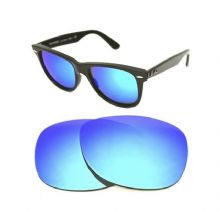 NEW POLARIZED CUSTOM ICE BLUE LENS FOR RAY BAN WAYFARER 2140 50mm SUNGLASSES